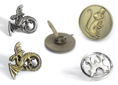 premium 3D metal badges