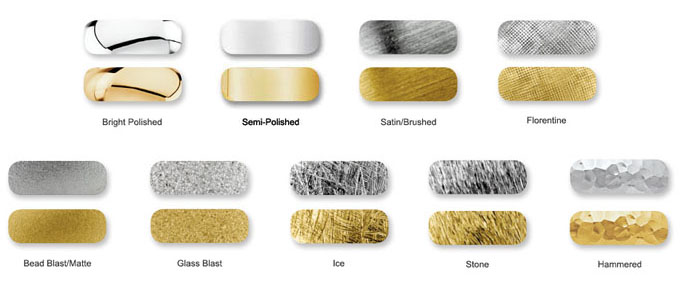 metal finishing options
